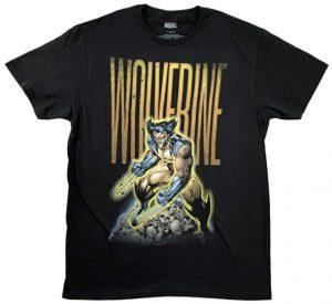 Camiseta de Lobezno de calavera- Las mejores camisetas de Lobezno - Wolverine - Camisetas de Marvel
