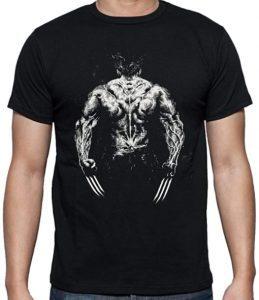 Camiseta de Lobezno espaldas - Las mejores camisetas de Lobezno - Wolverine - Camisetas de Marvel