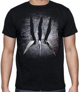 Camiseta de Lobezno garras - Las mejores camisetas de Lobezno - Wolverine - Camisetas de Marvel