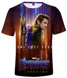 Camiseta de Ojo de Halcón en Endgame - Las mejores camisetas de Hawkeye - Ojo de Halcón - Camisetas de Marvel