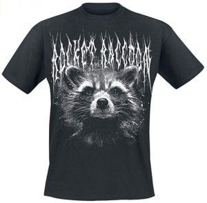 Camiseta de Rocket Raccoon Guardianes 2 - Las mejores camisetas de Rocket de Guardianes de la Galaxia - Camisetas de Marvel