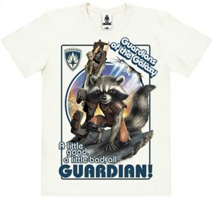 Camiseta de Rocket Raccoon clásico - Las mejores camisetas de Rocket de Guardianes de la Galaxia - Camisetas de Marvel