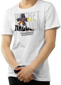 Camiseta de Rocket Raccoon difuminada - Las mejores camisetas de Rocket de Guardianes de la Galaxia - Camisetas de Marvel