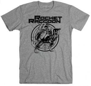 Camiseta de Rocket con diana - Las mejores camisetas de Rocket de Guardianes de la Galaxia - Camisetas de Marvel