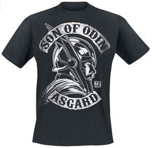 Camiseta de Son of Odin Asgard - Las mejores camisetas de Thor - Camisetas de Marvel