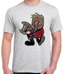 Camiseta de Star Lord Kawaii - Las mejores camisetas de Star-Lord de Guardianes de la Galaxia - Camisetas de Marvel