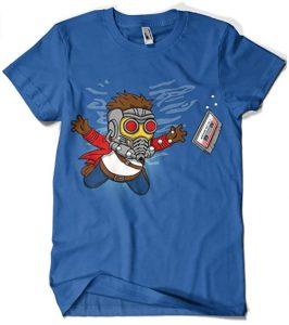 Camiseta de Star Lord Nirvana - Las mejores camisetas de Star-Lord de Guardianes de la Galaxia - Camisetas de Marvel