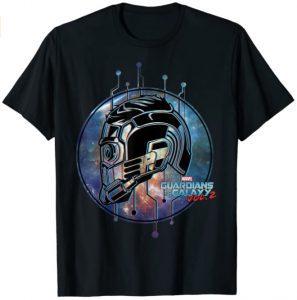Camiseta de Star Lord casco - Las mejores camisetas de Star-Lord de Guardianes de la Galaxia - Camisetas de Marvel