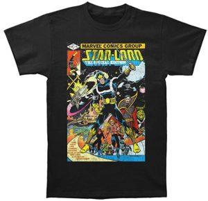 Camiseta de Star Lord comic - Las mejores camisetas de Star-Lord de Guardianes de la Galaxia - Camisetas de Marvel