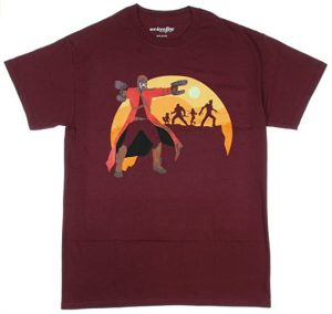 Camiseta de Star Lord granate - Las mejores camisetas de Star-Lord de Guardianes de la Galaxia - Camisetas de Marvel