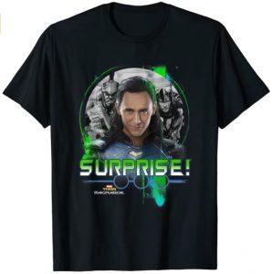 Camiseta de Surprise de Loki - Las mejores camisetas de Loki - Camisetas de Marvel