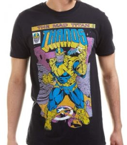Camiseta de Thanos Snap - Las mejores camisetas de Thanos - Camisetas de Marvel