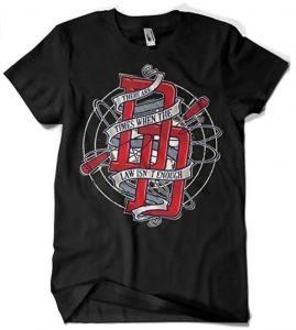 Camiseta de The Law is not enough de Daredevil - Las mejores camisetas de Daredevil - CamCamiseta de The Law is not enough de Daredevil - Las mejores camisetas de Daredevil - Camisetas de Marvelisetas de Marvel