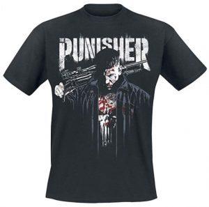 Camiseta de The Punisher de Netflix serie - Las mejores camisetas de The Punisher - Camisetas de Marvel