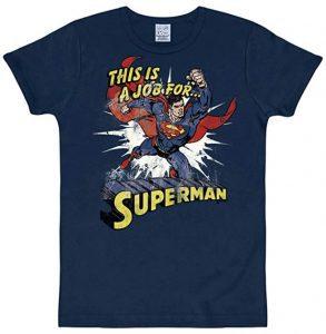 Camiseta de This is a Job for Superman - Las mejores camisetas de Superman - Camisetas de DC