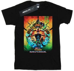 Camiseta de Thor Ragnarok Poster - Las mejores camisetas de Thor - Camisetas de Marvel