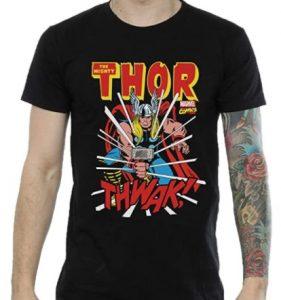 Camiseta de Thor clásico de cómics - Las mejores camisetas de Thor - Camisetas de Marvel
