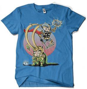 Camiseta de Thor y Loki - Las mejores camisetas de Loki - Camisetas de Marvel