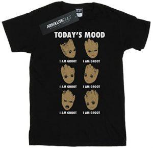 Camiseta de Todays Mood - Las mejores camisetas de Groot de Guardianes de la Galaxia - Camisetas de Baby Groot