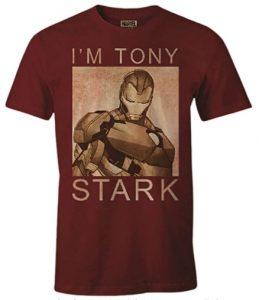 Camiseta de Tony Stark - Las mejores camisetas de Iron man - Camisetas de Marvel