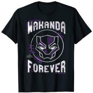 Camiseta de Wakanda Forever de Black Panther - Las mejores camisetas de Black Panther - Camisetas de Marvel