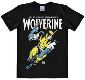 Camiseta de Wolverine Adamantium - Las mejores camisetas de Lobezno - Wolverine - Camisetas de Marvel