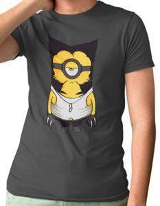Camiseta de Wolverine Minion - Las mejores camisetas de Lobezno - Wolverine - Camisetas de Marvel