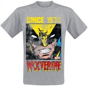 Camiseta de Wolverine Since 1974 - Las mejores camisetas de Lobezno - Wolverine - Camisetas de Marvel