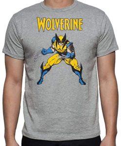 Camiseta de Wolverine clásico - Las mejores camisetas de Lobezno - Wolverine - Camisetas de Marvel
