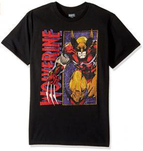 Camiseta de Wolverine clásico en cómic - Las mejores camisetas de Lobezno - Wolverine - Camisetas de Marvel