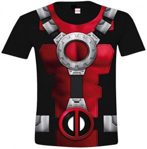 Camiseta de armadura de Deadpool - Las mejores camisetas de Deadpool - Camisetas de Marvel