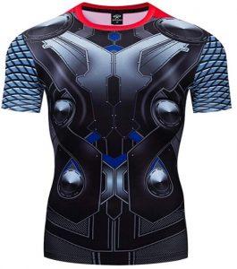 Camiseta de armadura de Thor - Las mejores camisetas de Thor - Camisetas de Marvel