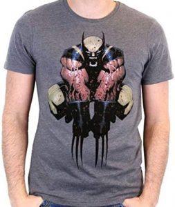 Camiseta de brazos de Wolverine - Las mejores camisetas de Lobezno - Wolverine - Camisetas de Marvel