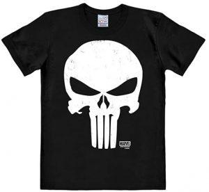Camiseta de calavera Marvel de The Punisher - Las mejores camisetas de The Punisher - Camisetas de Marvel
