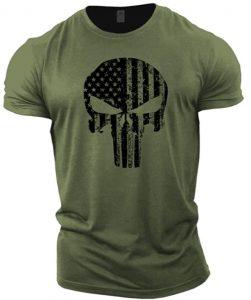 Camiseta de calavera USA de The Punisher - Las mejores camisetas de The Punisher - Camisetas de Marvel
