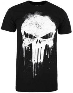 Camiseta de calavera de The Punisher - Las mejores camisetas de The Punisher - Camisetas de Marvel
