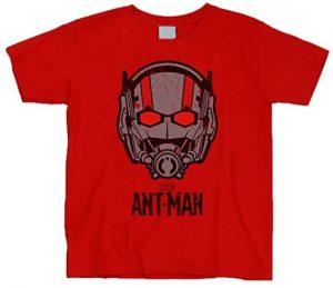 Camiseta de casco de Ant-man roja - Las mejores camisetas de Antman - Camisetas de Marvel