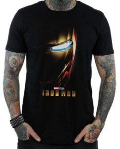 Camiseta de casco de Iron man 2 - Las mejores camisetas de Iron man - Camisetas de Marvel