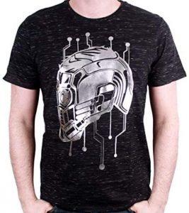 Camiseta de casco de Star Lord - Las mejores camisetas de Star-Lord de Guardianes de la Galaxia - Camisetas de Marvel