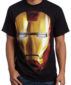 Camiseta de casco gigante de Iron man - Las mejores camisetas de Iron man - Camisetas de Marvel