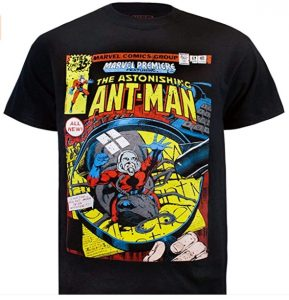 Camiseta de comic de Ant-man - Las mejores camisetas de Antman - Camisetas de Marvel