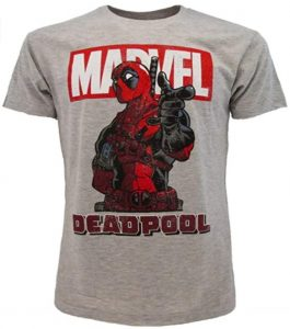 Camiseta de comic de Deadpool 2 - Las mejores camisetas de Deadpool - Camisetas de Marvel