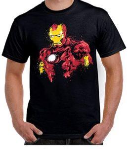 Camiseta de comic de Iron man - Las mejores camisetas de Iron man - Camisetas de Marvel