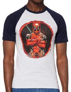 Camiseta de comic de pose de Deadpool - Las mejores camisetas de Deadpool - Camisetas de Marvel