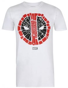 Camiseta de crack de Deadpool - Las mejores camisetas de Deadpool - Camisetas de Marvel