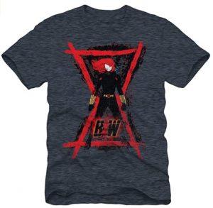 Camiseta de dibujo de logo de Black Widow - Las mejores camisetas de Black Widow - Viuda Negra - Camisetas de Marvel