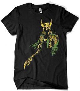 Camiseta de diseño de Loki - Las mejores camisetas de Loki - Camisetas de Marvel