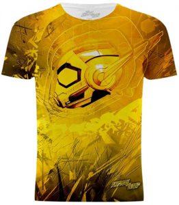 Camiseta de la Avispa de Ant-man and the Wasp - Las mejores camisetas de Antman - Camisetas de Marvel