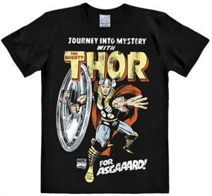 Camiseta de letras de Thor clásico de cómics - Las mejores camisetas de Thor - Camisetas de Marvel