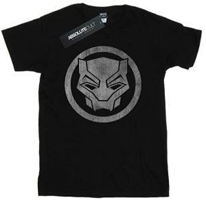 Camiseta de logo de Black Panther - Las mejores camisetas de Black Panther - Camisetas de Marvel